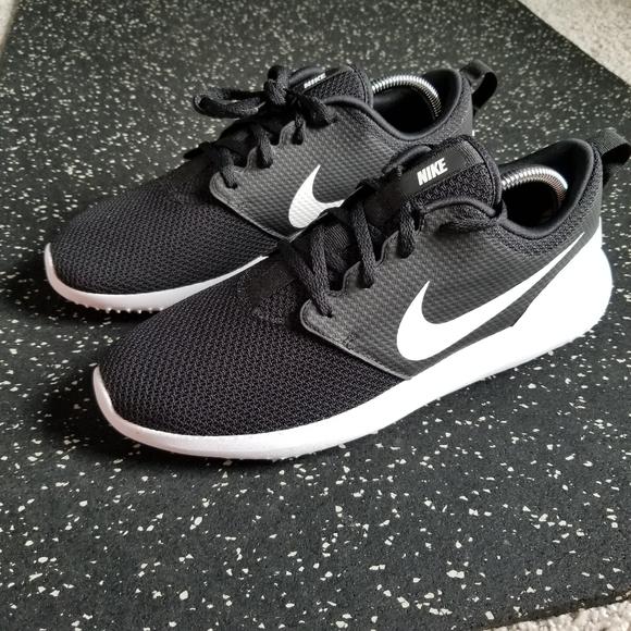 Nike Shoes Roshe G Spikeless Golf Blackwhite Poshmark